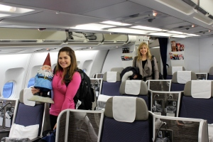 Boarding the Brussels Air flight to Rome via way of Brussels, Belgium-- first class all the way, baby!