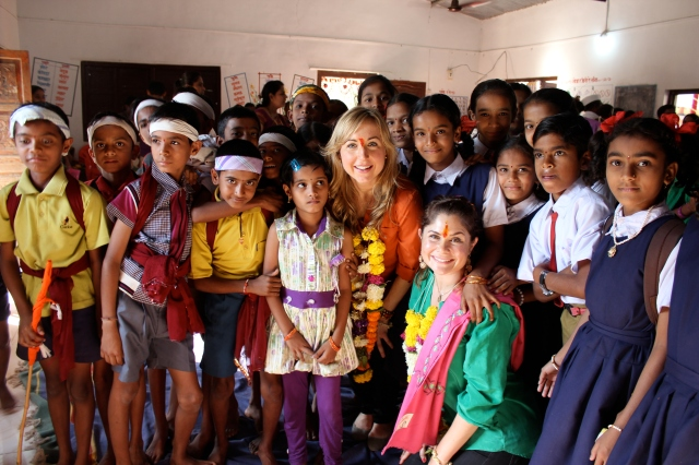 Some of the beautiful children at the Indian village we had the opportunity to visit and learn from a few hours outside of Mumbai