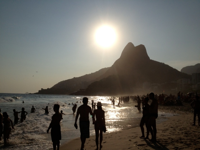 New Year's Eve on Ipanema beach in Rio