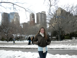 Early winter 2010- first true NYC winter!