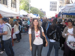 Experiencing my 1st fall in NYC, almost 3 years ago!