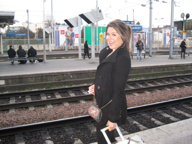 Traveling light in Paris in 2010
