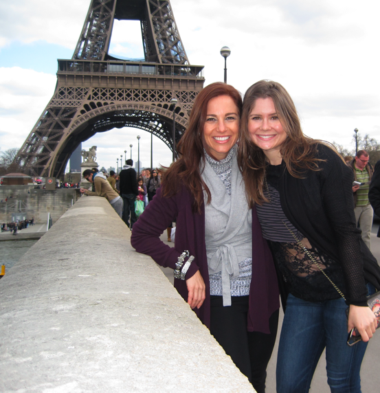 Karen and me in Paris