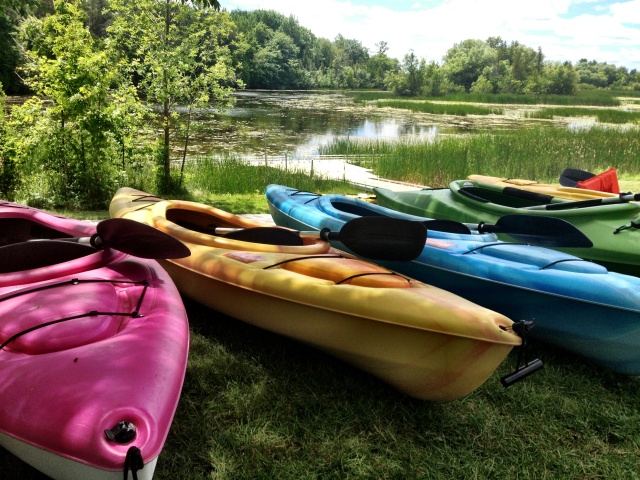 Kayaking in Thunder Bay  Marine Sanctuary in Alpena, Michigan.  Traveling and having a curiosity for life could also mean picking up a new activity or hobby!