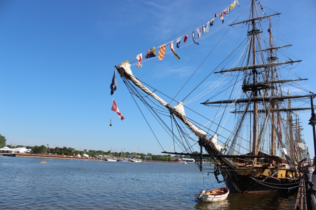 The Tall Ships Celebration in Bay City, Michigan--it was quite incredible to be a part of!