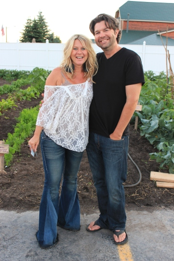 The Courtyard's owners, Chris and Lora Carlson.